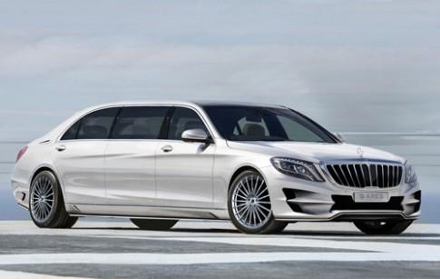Mercedes S-class độ - thế giới xa hoa