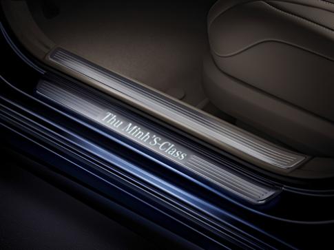 Mercedes S-Class hàng thửa của ca sĩ Thu Minh