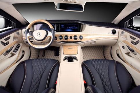 Mercedes S600 Guard nội thất siêu sang