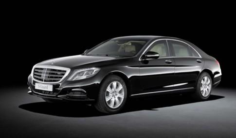 Mercedes S600 Guard - xe cho chính khách
