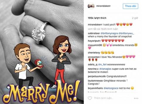 Miranda Kerr đính hôn với tỷ phú điển trai khiến fan nức lòng