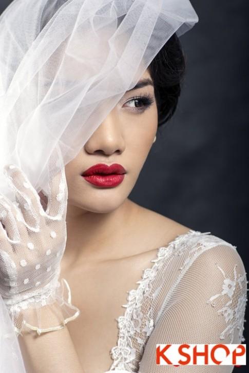 Muôn kiểu tóc cô dâu đẹp 2017 cho nàng trở nên sang trọng quyến rũ
