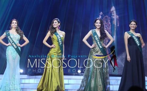 Nam Em gây bất ngờ, Ecuador đăng quang hoa hậu Trái đất 2016