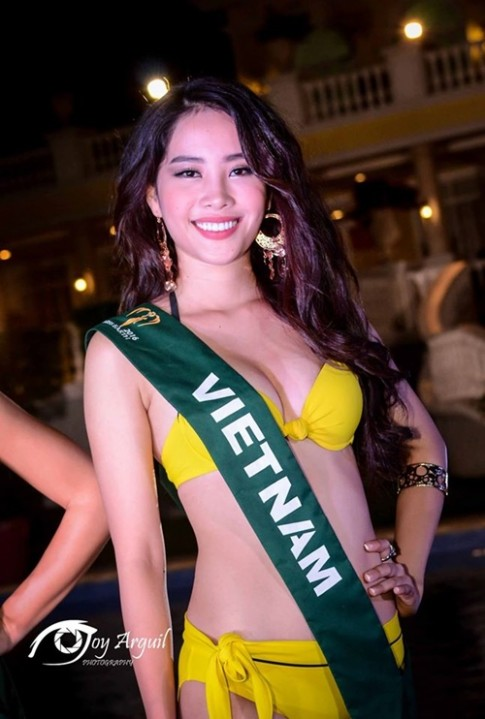 Nam Em sẵn sàng để tỏa sáng tại Hoa hậu Trái Đất 2016