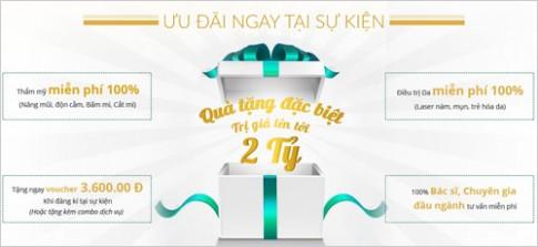 Nhận quà tặng 2 tỷ khi dự khai trương chi nhánh Đông Á Beauty.