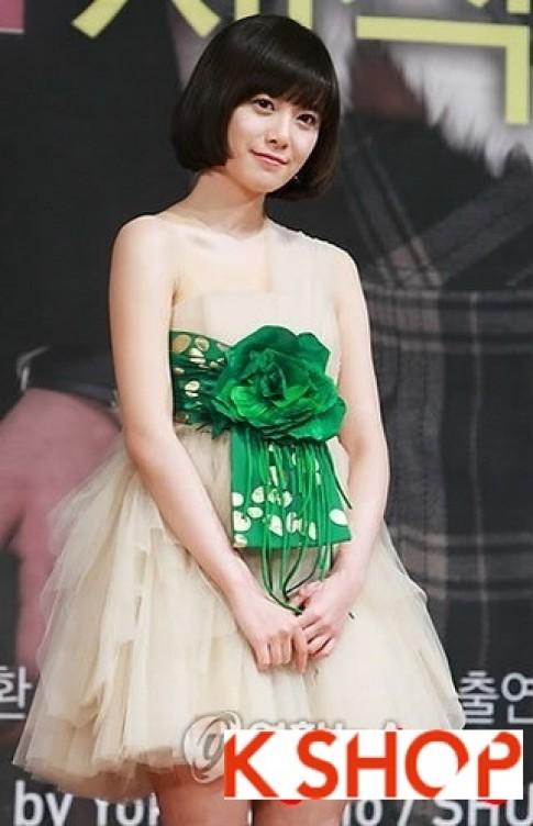 Những kiểu tóc ngắn đẹp xinh xắn dễ thương của sao Hàn Quốc 2017