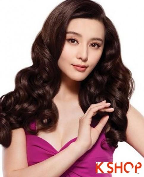 Những kiểu tóc uốn xoăn tuyệt đẹp nhất 2017 phong cách Hàn Quốc