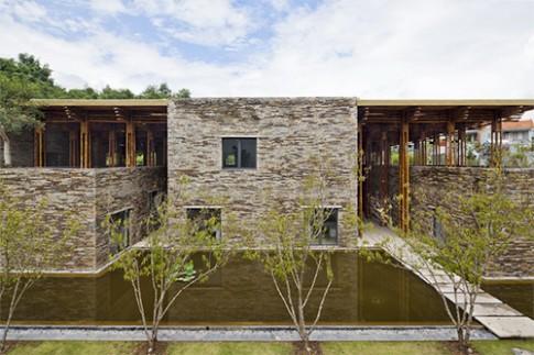 Những ngôi nhà xây bằng đất, đá được giải thưởng kiến trúc