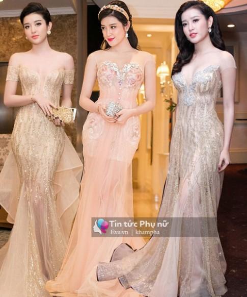 Những sao Việt đắt giá nhất lại gây nhàm chán vì mặc mãi một kiểu váy