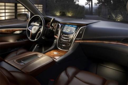 Nội thất đẳng cấp của Cadillac Escalade mới