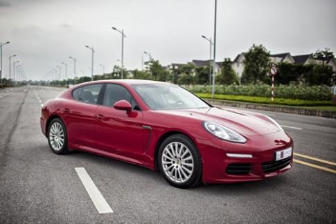 Porsche Panamera – khi nhà giàu nổi hứng?