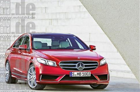 Rò rỉ hình ảnh Mercedes E-class 2016?