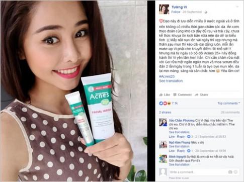 """Sao nữ Việt chia sẻ về nỗi ám ảnh """"mụn tuổi trưởng thành""""."""