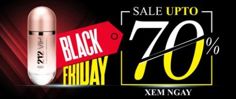 Thế Giới Nước Hoa giảm giá đến 70% dịp Black Friday.
