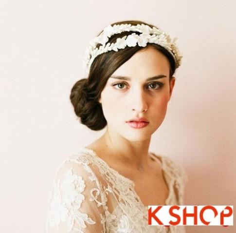 Tóc búi đẹp nhất cho cô dâu sang trọng cuốn hút trong ngày cưới