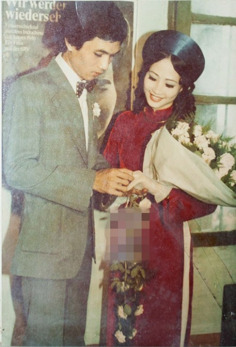Trầm trồ ngắm lại váy cưới của sao Việt mấy chục năm trước