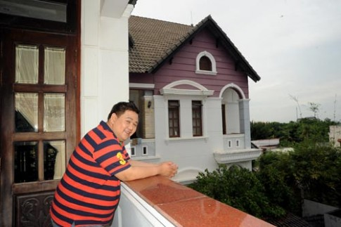 Tròn mắt ngắm nhà hoành tráng của Minh Béo