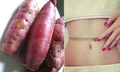 Tuần trước 56kg, tuần sau 52kg chỉ bằng cách ăn khoai lang đúng kiểu