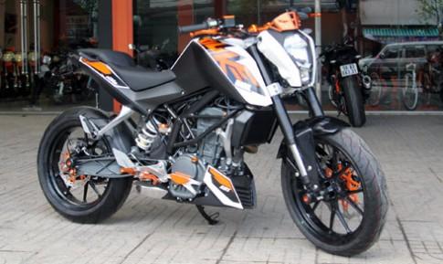 Xe do KTM Duke 200 tri gia 160 trieu dong