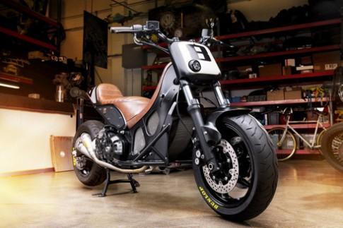 Xe ga Yamaha T-Max 'biến hình'