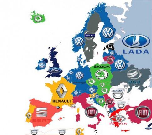 Xe nào bán chạy nhất châu Âu?