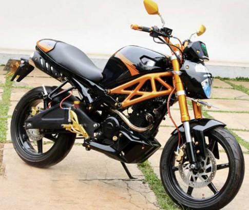 Yamaha FZ16 - chú ong tròn trĩnh