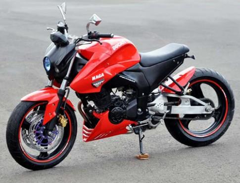 Yamaha FZ16 - một thân nhiều phong cách