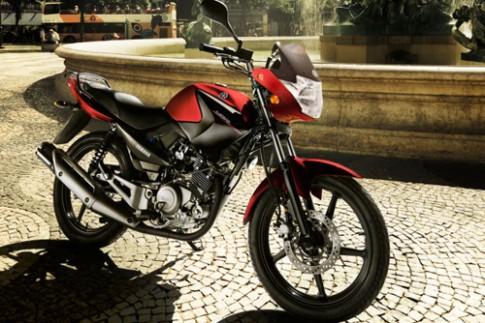 Yamaha giới thiệu mẫu côn tay cỡ nhỏ YBR125 2014