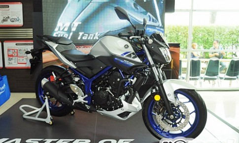 Yamaha MT-03 giá 4.900 USD tại Thái Lan
