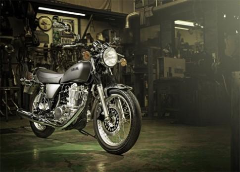 Yamaha SR400 mới - sự trở lại của huyền thoại