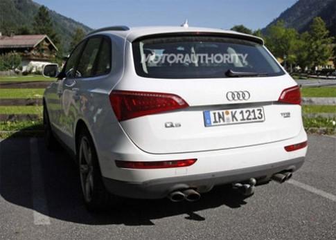 Audi Q5 S trên đường thử