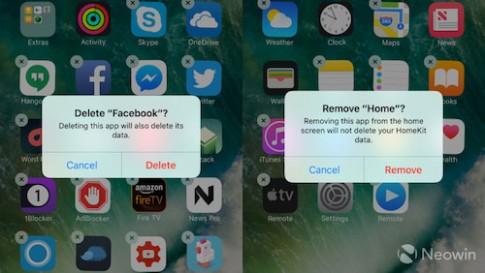 Chuyện gì xảy ra khi xóa ứng dụng mặc định khỏi iOS 10?