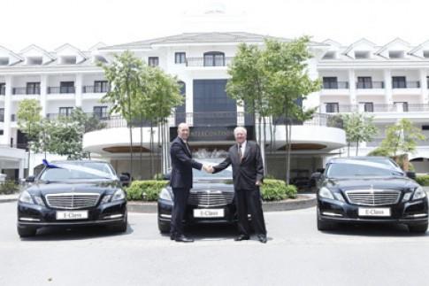 InterContinental Hanoi sử dụng Mercedes E-class mới