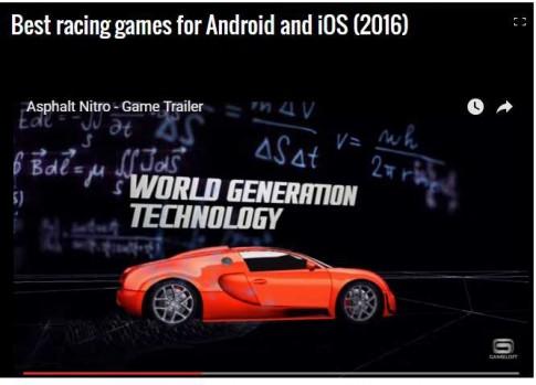 Những game đua xe hot nhất 2016 cho 'dế' chạy Android và iOS