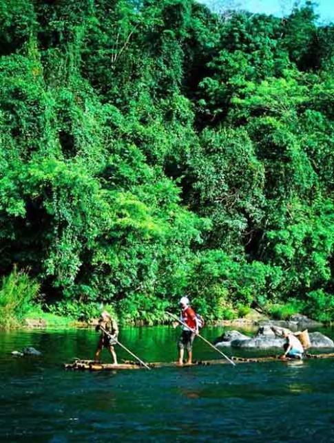Về Bình Định thăm sông Côn hùng vĩ