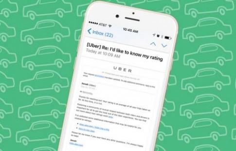 Bạn đang được tài xế Uber đánh giá mấy sao?