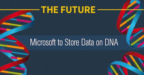 Microsoft muốn lưu dữ liệu số trên gen di truyền