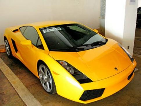 Siêu xe Lamborghini có giá khai báo 55.000 USD