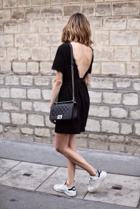 Ngại gì mà không mặc váy đen!