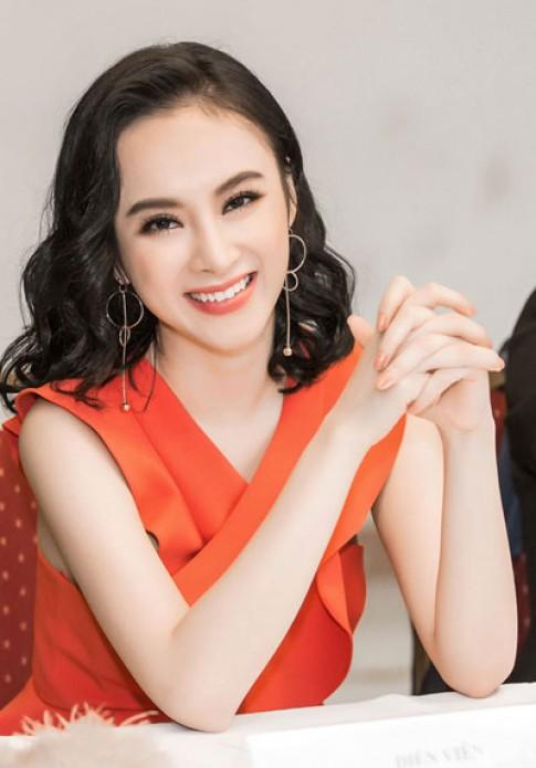 Chi Pu, Angela Phương Trinh trang điểm tươi trẻ với son cam