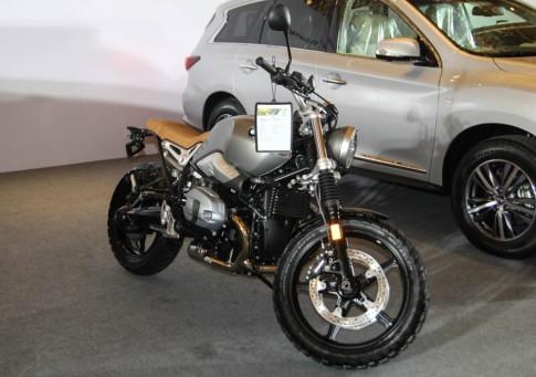 BMW R nineT Scrambler xuất hiện đầu tiên tại VN