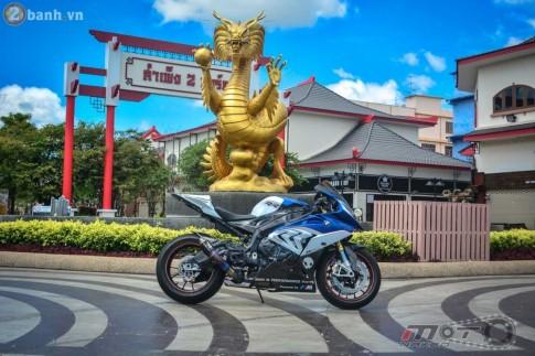 BMW S1000RR 2015 hút hồn trong bản độ cực chất của biker Thái
