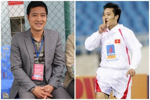 Danh thủ Nguyễn Hồng Sơn khi không mặc áo số, quần đùi