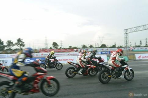 Honda Việt Nam đã bổ sung thêm hạng mục đua dành cho WINNER 150 đến với khán giả tỉnh Bình Dương