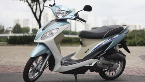 5 mẫu xe ga tiết kiệm xăng nhất tại Việt Nam