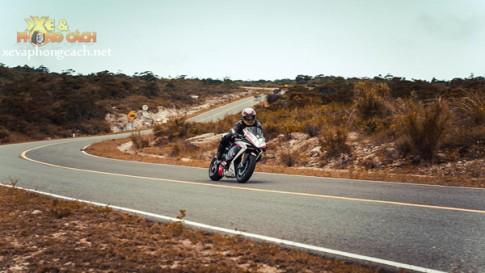 [Ảnh đẹp] Mô tô PKL của biker Việt trên đường cua