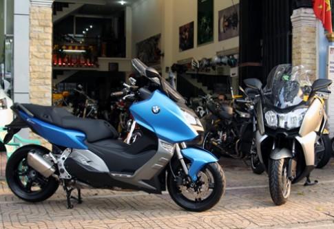 Bộ đôi scooter BMW hạng sang bất ngờ về Việt Nam