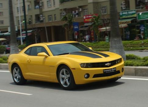 Chevrolet Camaro - xe hoi 'suc manh' My tai Viet Nam