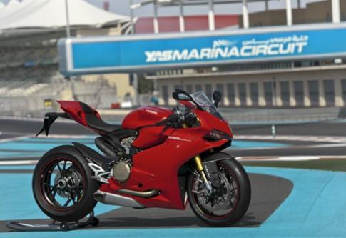 Ducati 1199 Panigale trình làng tại Abu Dhabi