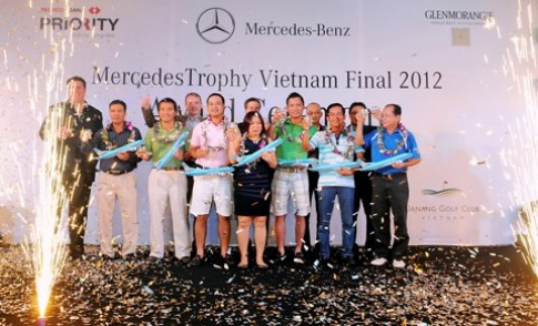 Giải golf Mercedes trị giá gần 5 tỷ đồng